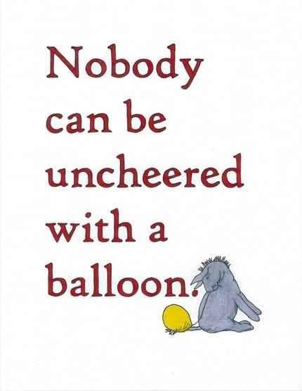 Balloons quote