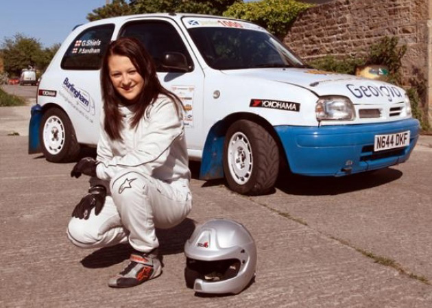 Georgia Shiels Rally Driver