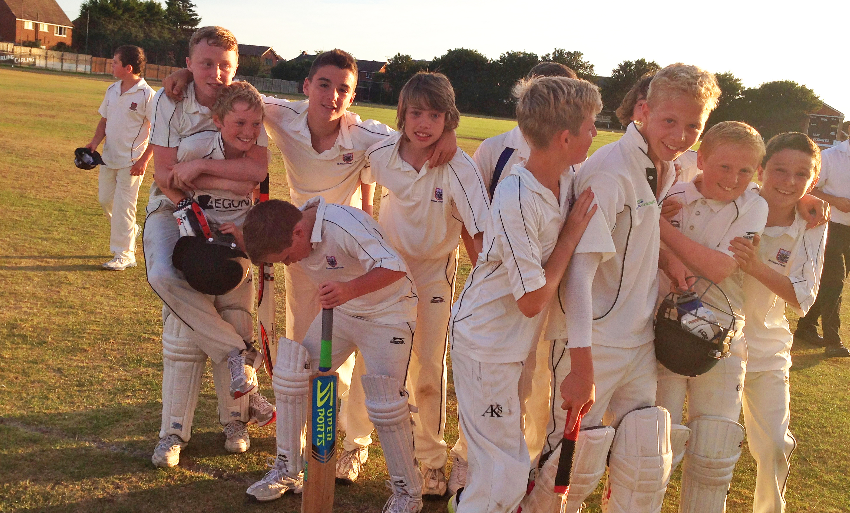 St Annes Cricket Club junior players
