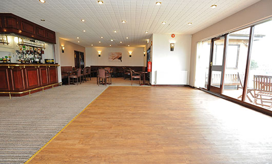 Function room hire at St Annes CC
