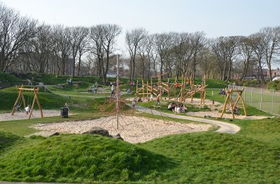 Ashton Gardens childrens play area, St Annes on Sea