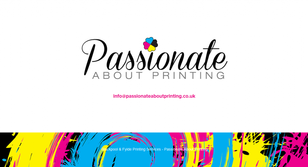 Passionate About Printing