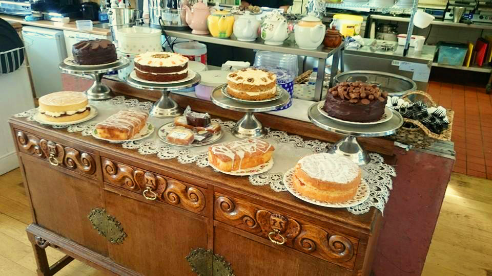 The Pavilion Cafe cakes