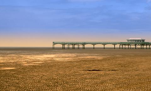 St Annes Pier and beach