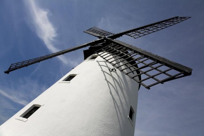 Lytham Windmill on Lytham Green