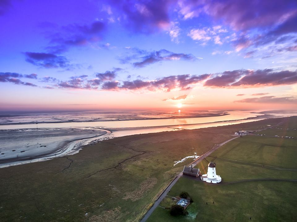 Lytham Windmill Aerial Photo Sean O'Donoghue