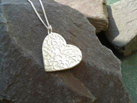 LucyLou Designs handmade jewelery - heart