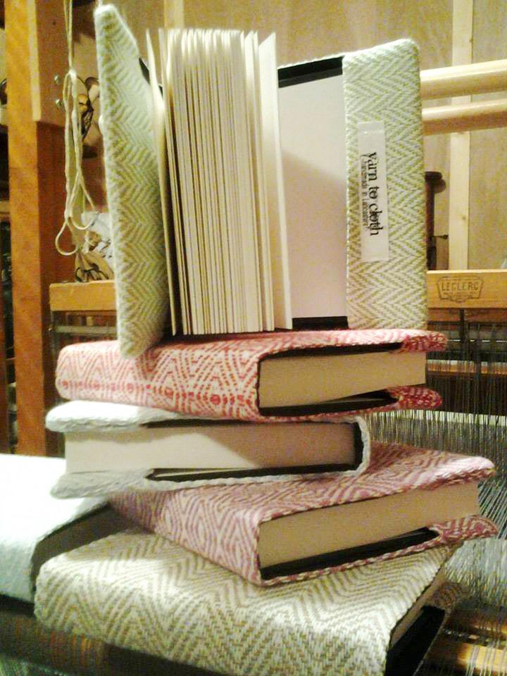 Yarn to Cloth handmade book covers