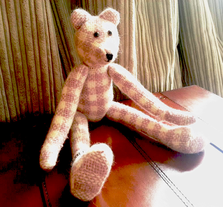 Yarn to Cloth teddy