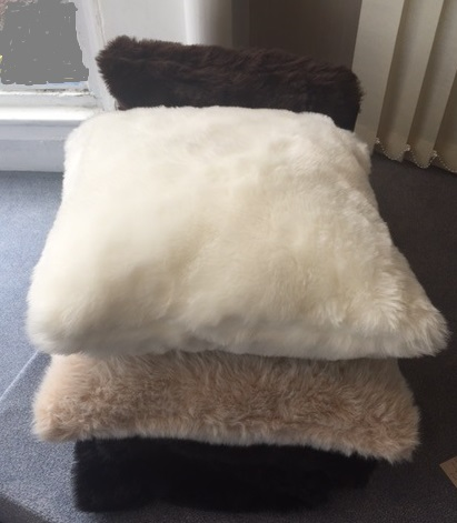 Sopers Furry Cushions