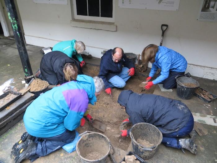 Volunteers at Work at Lytham Hall