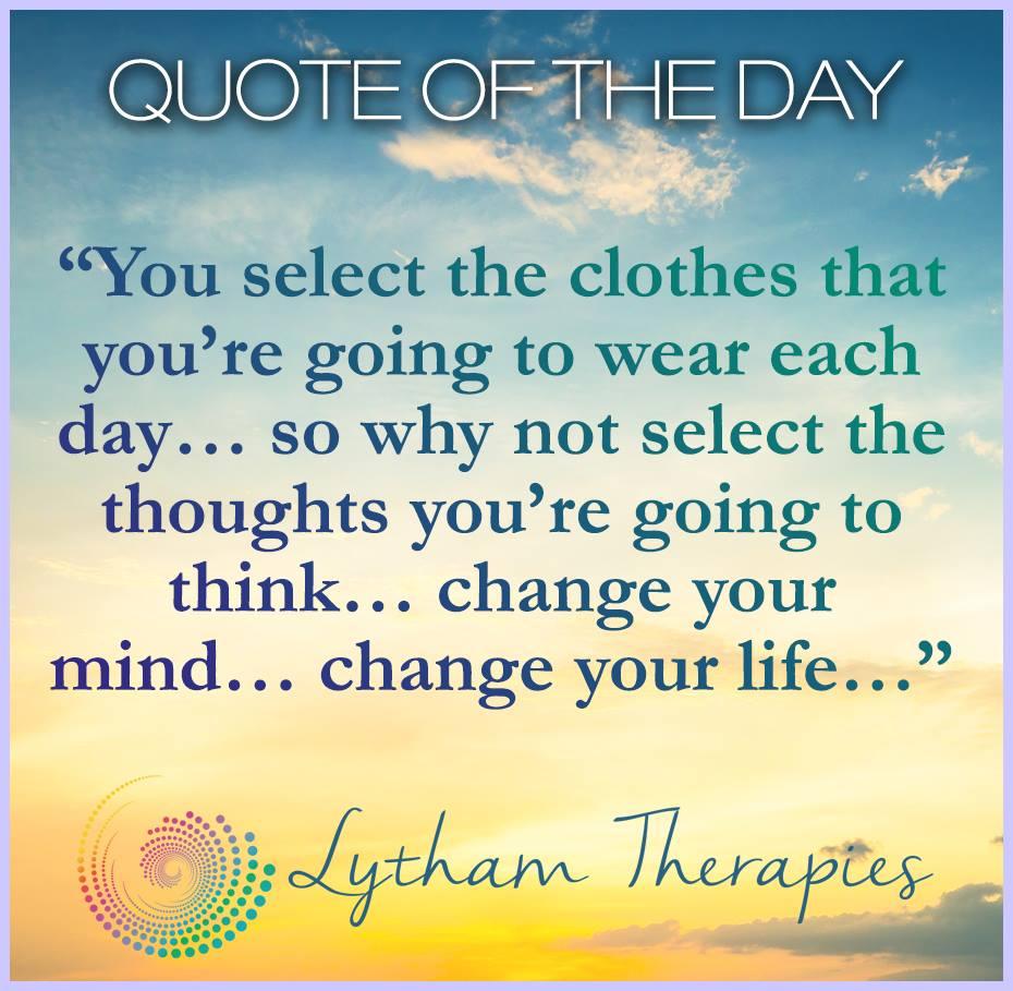 Lytham Therapies Change Quote