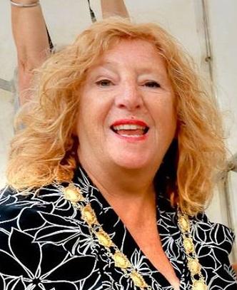 Cheryl Little Sy Annes On Sea Town Mayor