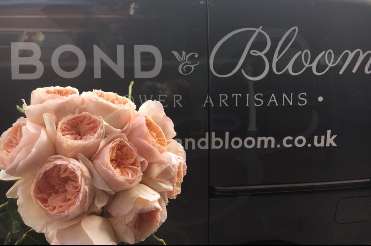 Bond & Bloom Lytham Van and Bouquet