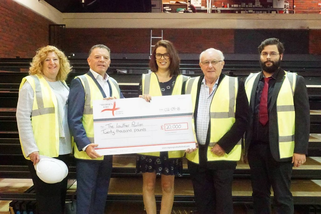 St Georges Day Cheque Presentation Love Lowther
