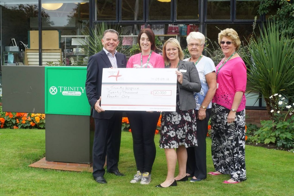St Georges Trinity Hospice Donation