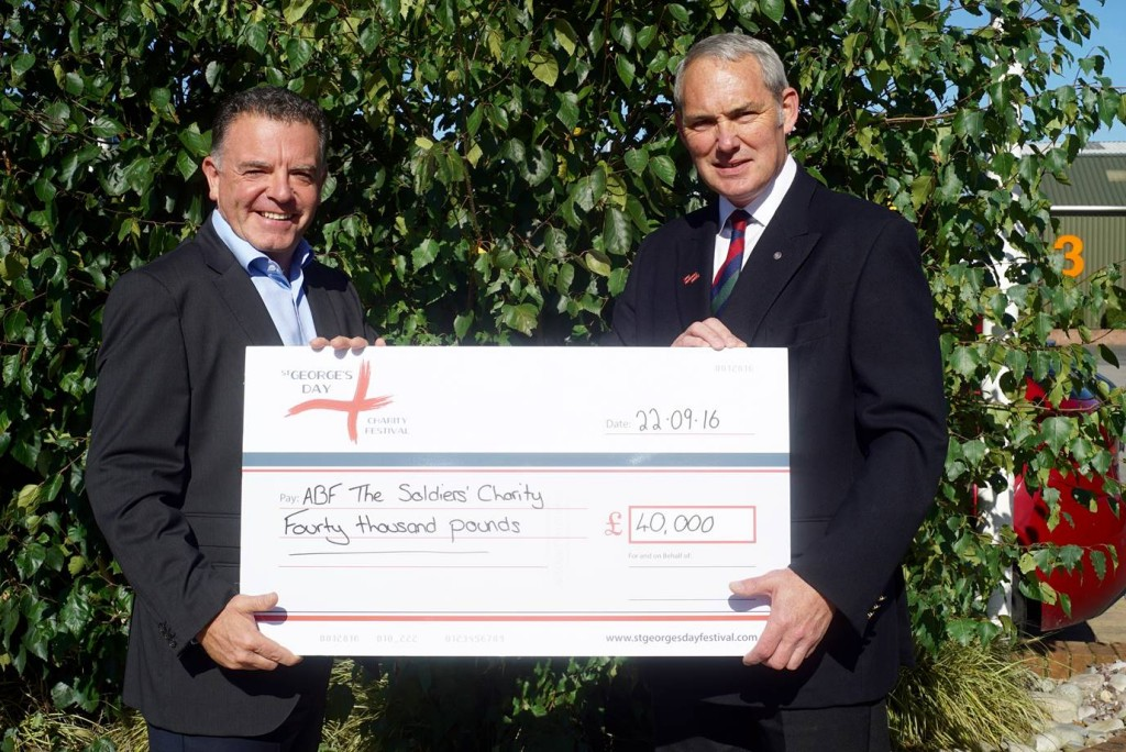 St Georges Day Festival lytham supports afb charity