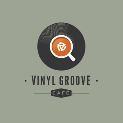 vinyl Groove Cafe Lytham Logo