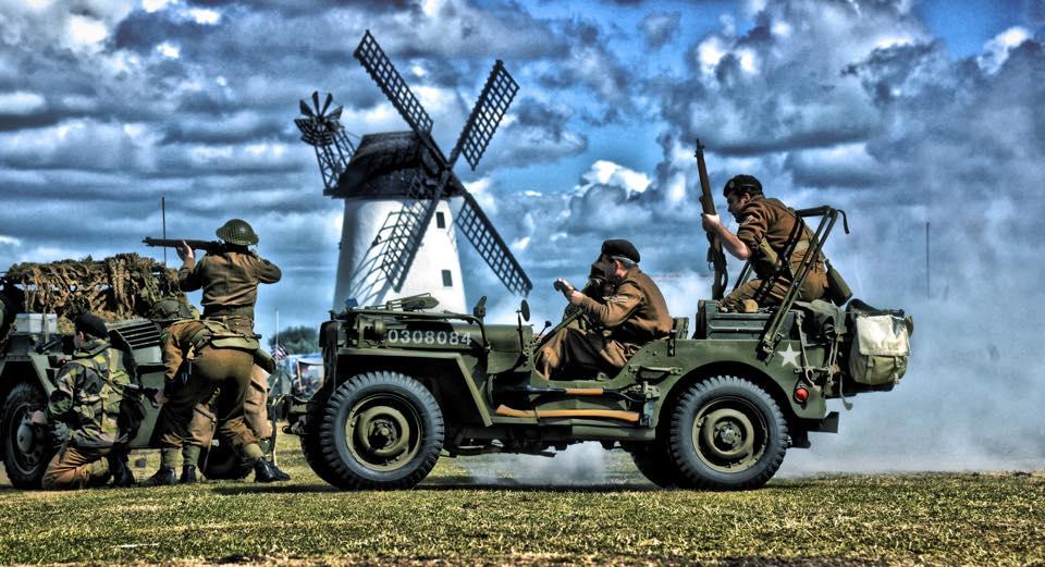 Wartime Reenactment Lytham 2017