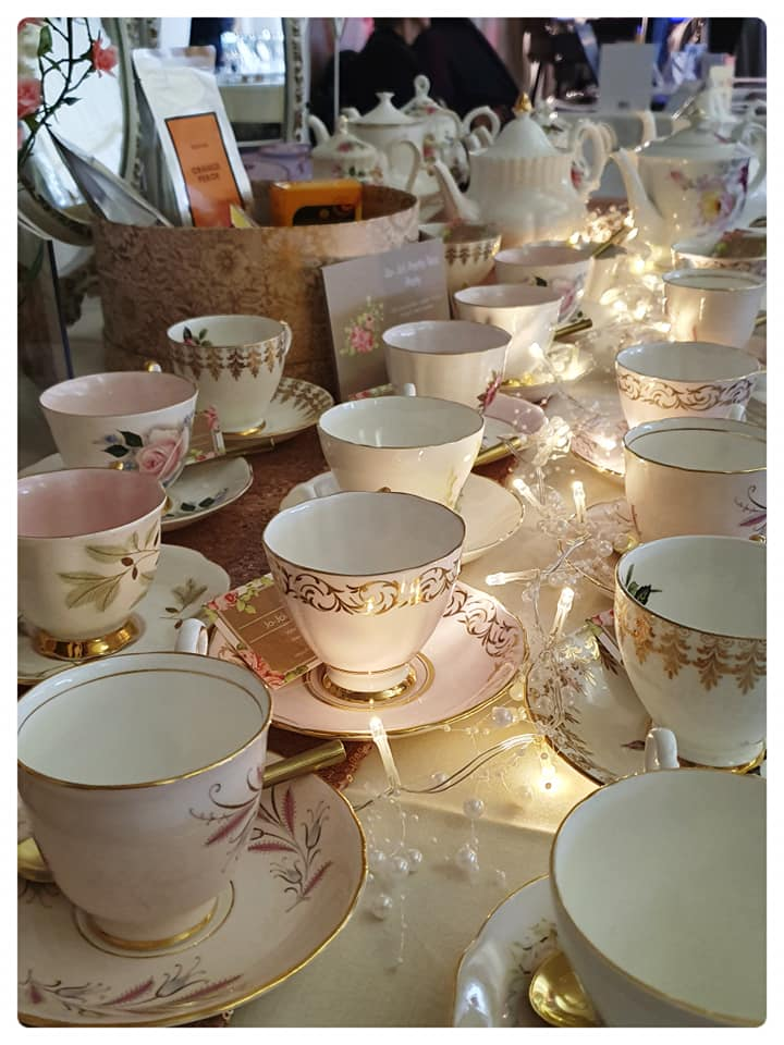 jo jo pretty tea party china hire lytham