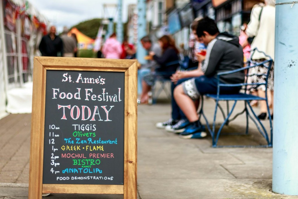 ST Annes on Sea Food Festival 2018