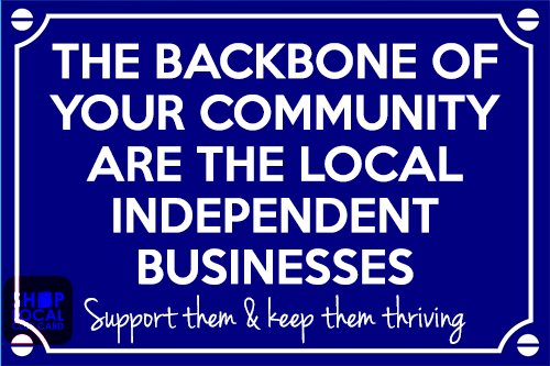 shop local backbone