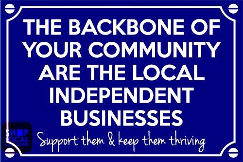 shop local backbone