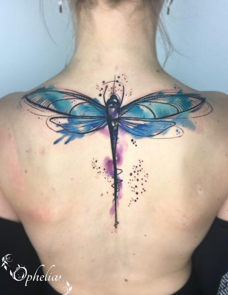 DragonFly Tattoo Ophelia Lytham