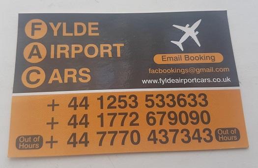 Fylde Airport Cars
