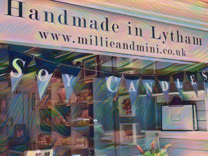 Millie and Mini Soy Candles Lytham
