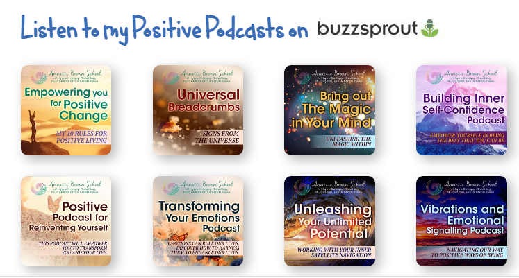 Annette Brown Positivity podcasts