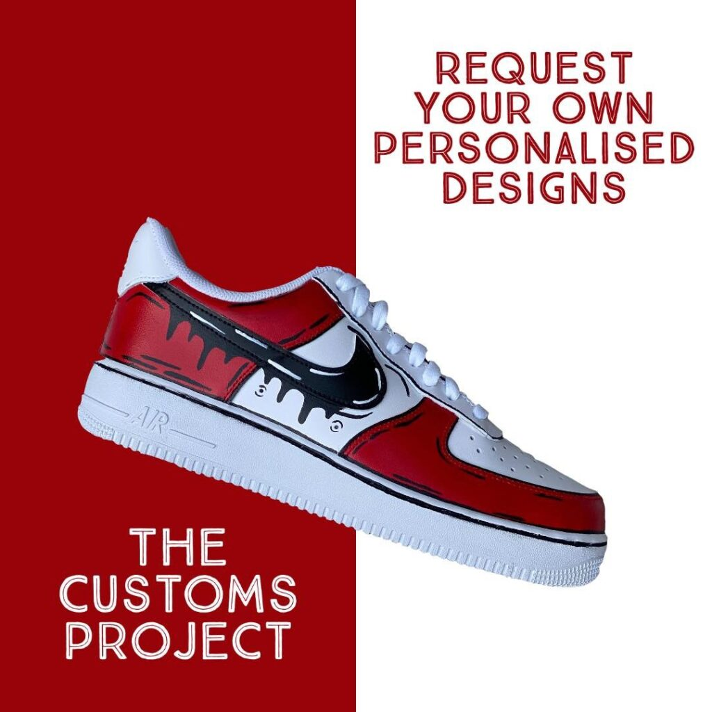 Custom Project Personalised Trainers Lytham