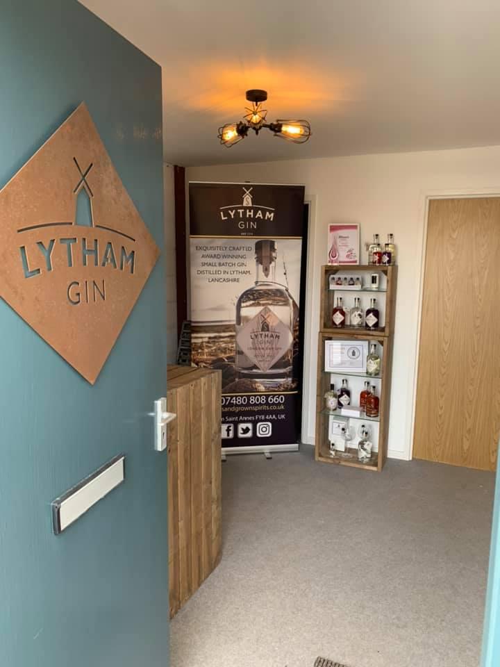 Lytham Gin Doorway